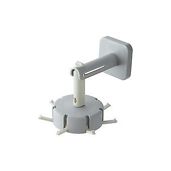 360 Degree Self Adhesive Vertical Hook Waterproof Utility Hook For Home Bathroom