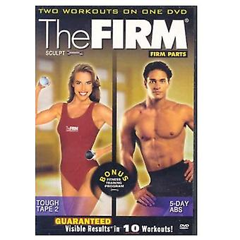 Firm Parts-5 Day Abs/Tough [DVD] USA import