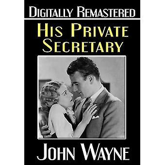 Hans privata sekreterare [DVD] USA import