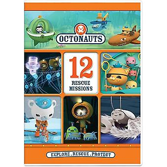 Octonauts: 12 Rescue Missions [DVD] USA import