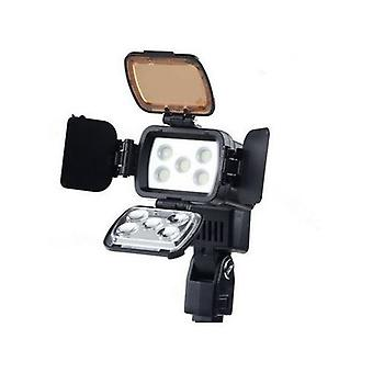 Dot.Foto VL-002B Professional 5-LED Video Light Digital Camera Camcorder Photography Lamp Adjustable