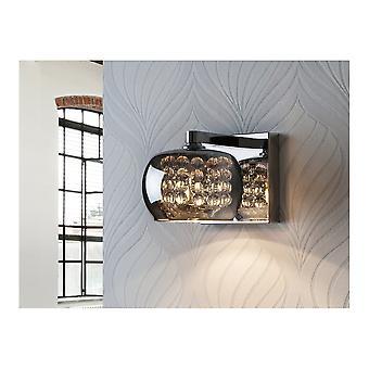 Schuller Arian Glass Diamond Wall Light