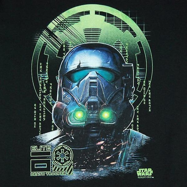 Star Wars Mens Star Wars Rogue un chevalier de la mort T Shirt noir