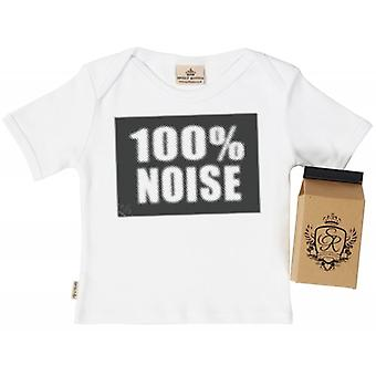 Spoilt Rotten 100% Noise Babys T-Shirt 100% Organic In Milk Carton