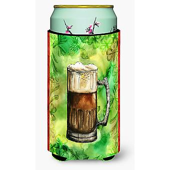 Carolines Treasures  BB5761TBC Irish Beer Mug Tall Boy Beverage Insulator Hugger