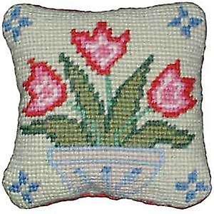Vase de tulipes Tapisserie Kit