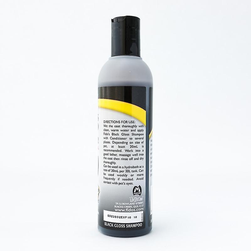 Fido's Black Gloss Shampoo 250ml