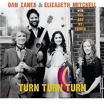 Dan Zanes & Elizabeth Mitchell - Turn Turn Turn [CD] USA import