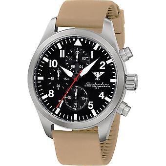 Montre KHS KHS de chronographe en acier Airleader. AIRSC. ST
