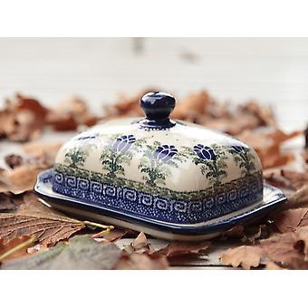 Smør fad, 250 g, unikke 7 boleslawiec aardewerk - BSN 1677