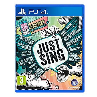 Just Sing (PS4) - New