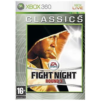 Fight Night Round 3 (Classics) (Xbox 360) - Factory Sealed