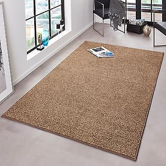 Ébouriffer velours tapis pure Unicode Brown