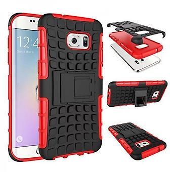 Hybrid case 2 piece SWL outdoor red for Samsung Galaxy S7 edge G935 G935F