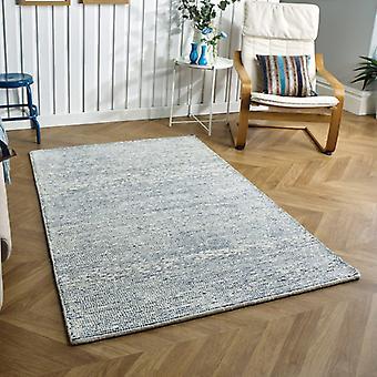 Tapis Milano bleu Rectangle tapis Plain/presque ordinaire