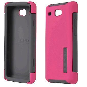 Incipio DualPro Case for Samsung Focus Flash I677 (Pink/Gray)
