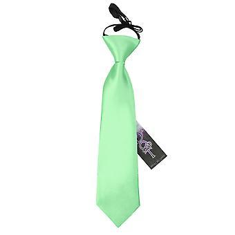 Mint grün Plain Satin elastische Binden für jungen