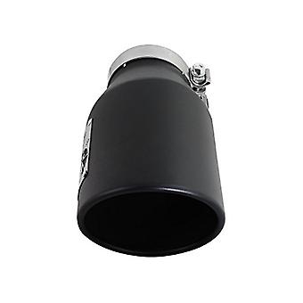 AFE Filters 49T40601-B12 MACH Force-Xp Exhaust Tip 4 in. x 6 in. Out x 12 in. L Black Stainless Steel Finish Tip w/Laser