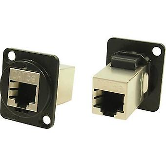 XLR adapter FTP RJ45 CAT 5e Adapter, built-in CP30220SMB CP30220SMB Cliff Content: 1 pc(s)