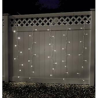 Curtain light (micro) Outside 24 V EEC: LED (A++ - E) 100 LED Warm white (W x H) 180 cm x 135 cm