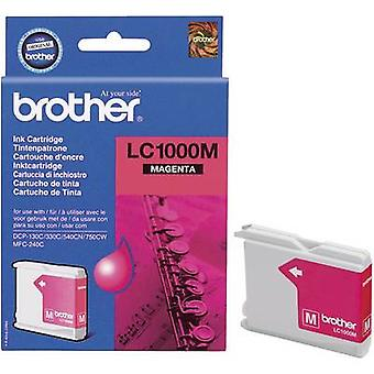 Brother bläck LC - 1000M Original Magenta LC1000M