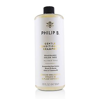 Philip B Gentle Conditioning Shampoo (fragrance Color Free - All Hair Types) - 947ml/32oz