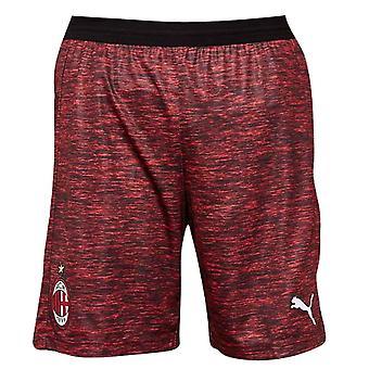 2018-2019 AC Milan Puma treia pantaloni scurți roșu (copii)