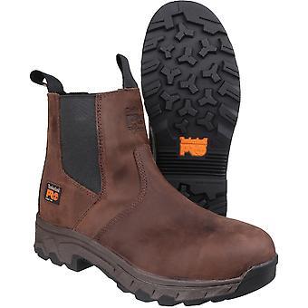 Timberland Herre Workstead Pull på forhandler læder arbejde sikkerhed Boot