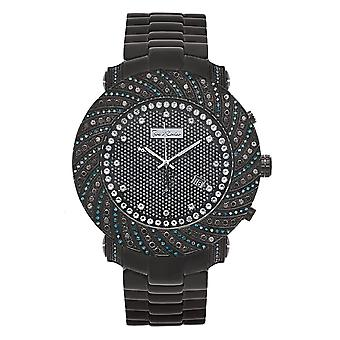 Joe Rodeo diamond men's watch - JUNIOR Black 4.25 ctw