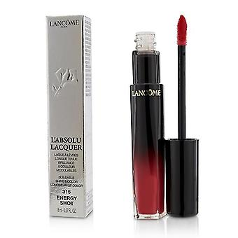 Lancome L'absolu Lacquer Buildable Shine & Color Longwear Lip Color - # 315 Energy Shot - 8ml/0.27oz