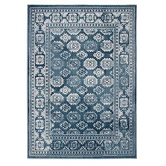 MIZRAHI Rectangle bleu tapis couvertures traditionnelles