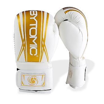 Eje bytomic V2 guantes de boxeo blanco/oro
