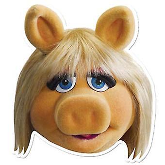Masque de robe de fantaisie de carte de Miss Piggy (Les Muppets)