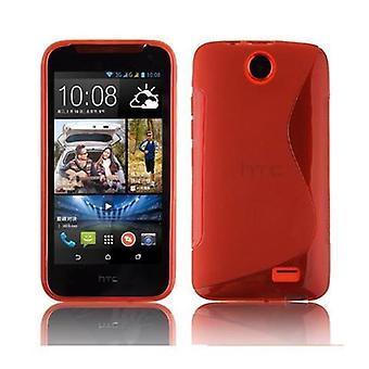 Cadorabo case for HTC Desire 310 case case cover - Mobile TPU silicone phone case - Silicone Case Protective Case Ultra Slim Soft Back Cover Case Bumper