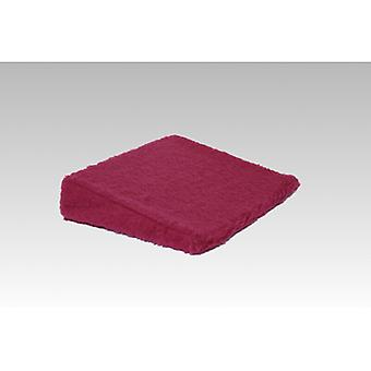Therapy wedge wedge cushions seat cushion bordeaux 40 x 40 x 8/1 cm