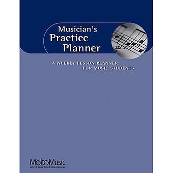 Pratica Planner del musicista: una lezione settimanale per gli studenti di musica