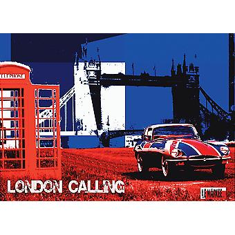London Calling Poster Print by Le Markee