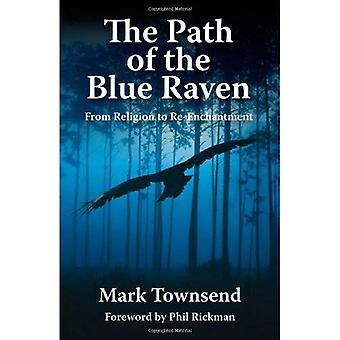 Le chemin d'accès du corbeau bleu