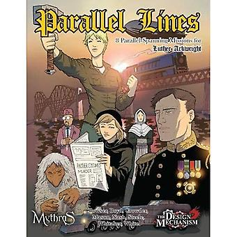 Parallel Lines: 8 Parallel-Spanning Missions for Luther Arkwright