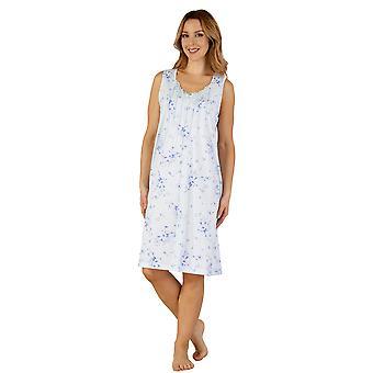Slenderella ND3121 kvinders Jersey nat kjole Loungewear natkjole