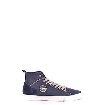 Colmar Originals Ezbc124030 Men's Blue Suede Hi Top Sneakers