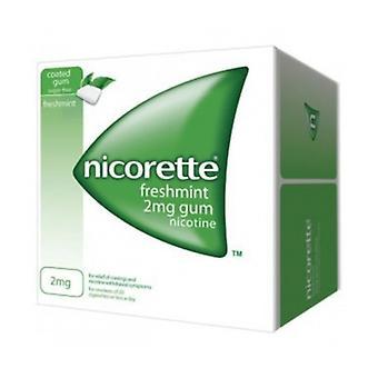 Nicorette Freshmint Gum 2Mg 25S