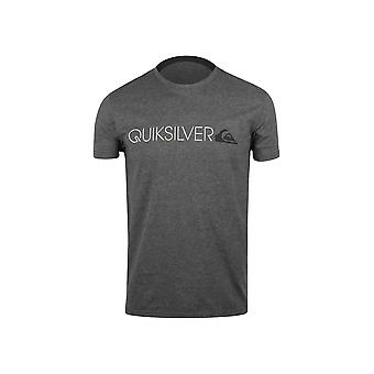 Quiksilver Herren Transit Lane T-Shirt-Charcoal Heather