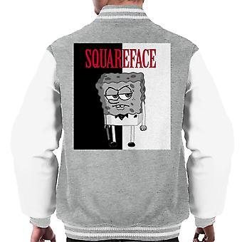 SpongeBob Squareface Scarface Pants Men's Varsity Jacket