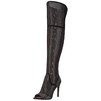 Vince Camuto Womens Kamorina Open Toe Over Knee Fashion Boots