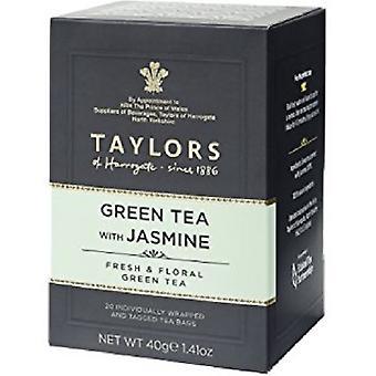 Taylors av Harrogate grønn te med Jasmine