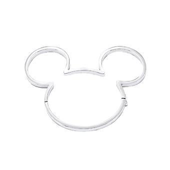 Disney Mikki Hiiri 90 vuotta valkoinen kullattu ranne rengas