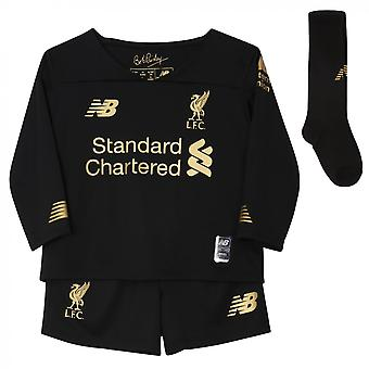 2019-2020 Liverpool Home Goalkeeper Mini Kit