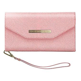 iDeal Mayfair clutch Pink iPhone XR