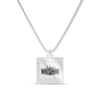 Wrestle Mania Anhänger Halskette In Sterling Silber Design von BIXLER